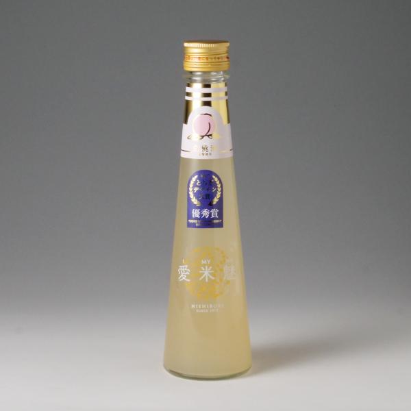 日本酒ベースの白桃リキュール 国産の白桃を使用しジューシーで贅沢な造りです 愛米魅 白桃酒 200ml おすすめ特集 I MY 高い素材 ME アイマイミー 通販 T10 西堀酒造 お祝い 栃木県 母の日 ギフト TY-J-K 誕生日