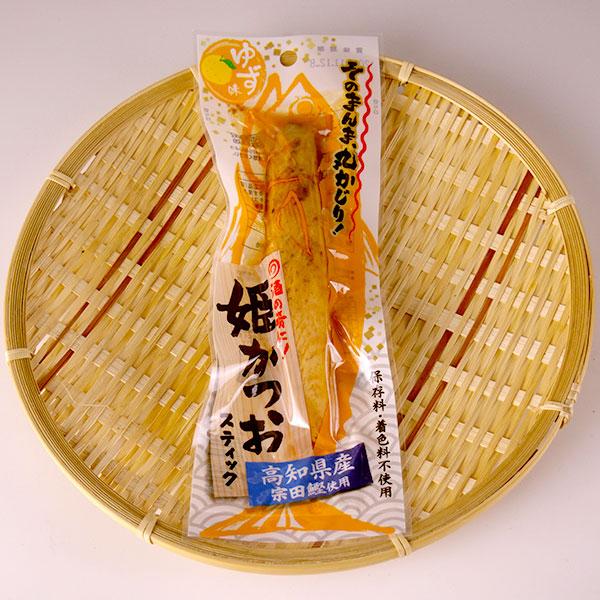 おつまみやおやつとして そのまんま丸かじり 高知県産ゆず果汁を使用し さっぱりと仕上げました 土佐食 ゆず味 買物 T8 ストア 姫かつおスティック TY-J-K
