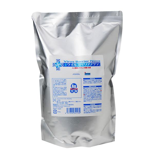 ゲルタイプの詰め替え用 ウイルスバリア ノヴァ ゲルタイプ詰替え用 1000g ノンアルコール 塩素不使用 10%OFF 銀イオン チタンイオン T10 亜鉛イオン TY-J-K 脱臭 除菌 消臭 並行輸入品 抗菌