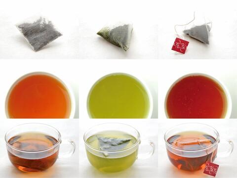 天然の優しい甘みと芳醇な香り メール便 送料込み 嬉野玉緑茶 ほうじ茶 嬉野紅茶 3種茶ティーバッグセット 佐賀県産 大特価 緑茶 和紅茶 名物 TY-J-M おくゆたか 通販 安心と信頼 MNR やぶきた 大好評 人気 T8 ランキング