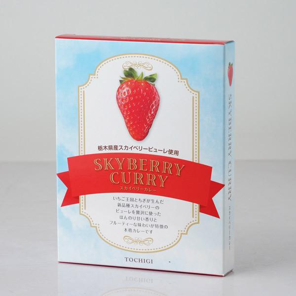 栃木県産スカイベリーを贅沢に使った ほんのり甘い香りとフルーティーな味わいのカレー セール特価品 男女兼用 スカイベリー いちごのカレー
