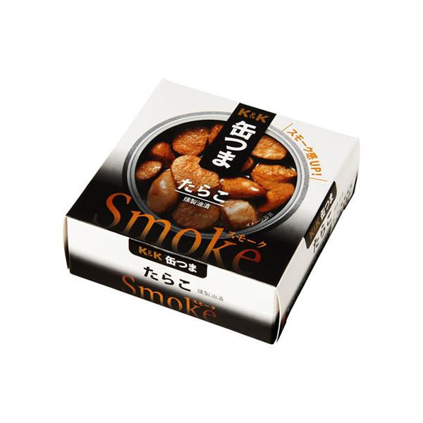 百貨店 上質な食材をじっくり香ばしく燻製 ウイスキーやハイボールによく合う 缶つま たらこ 営業 Somoke シリーズ