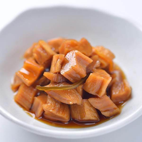 コリコリした食感と あとひく甘みが自慢です 缶詰 宮崎の焼酎に合う割干し大根漬 新作 初回限定