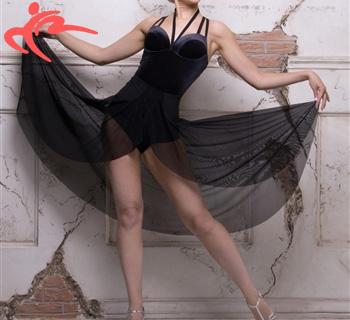 ■ロングショートスカート・タリスマンオブダンス(TALISMAN OF DANCE)■(社交ダンス 衣装 社交ダンス ウェア ドレス トップス スカート シューズ ダンス トップス 衣装 ダンス 服 パンツ ダンス ドレス シューズ)