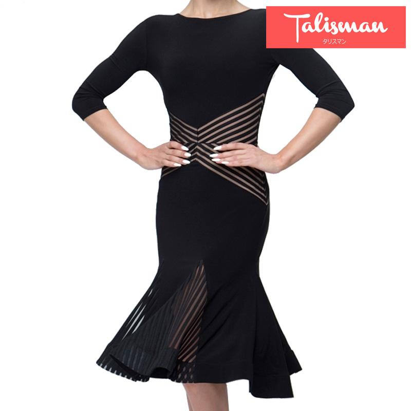 ■ラテンドレス·タリスマンオブダンス(TALISMAN OF DANCE)■  (社交ダンス 衣装 社交ダンス ウェア ドレス トップス スカート シューズ ダンス トップス 衣装 ダンス 服 パンツ ダンス ドレス シューズ)