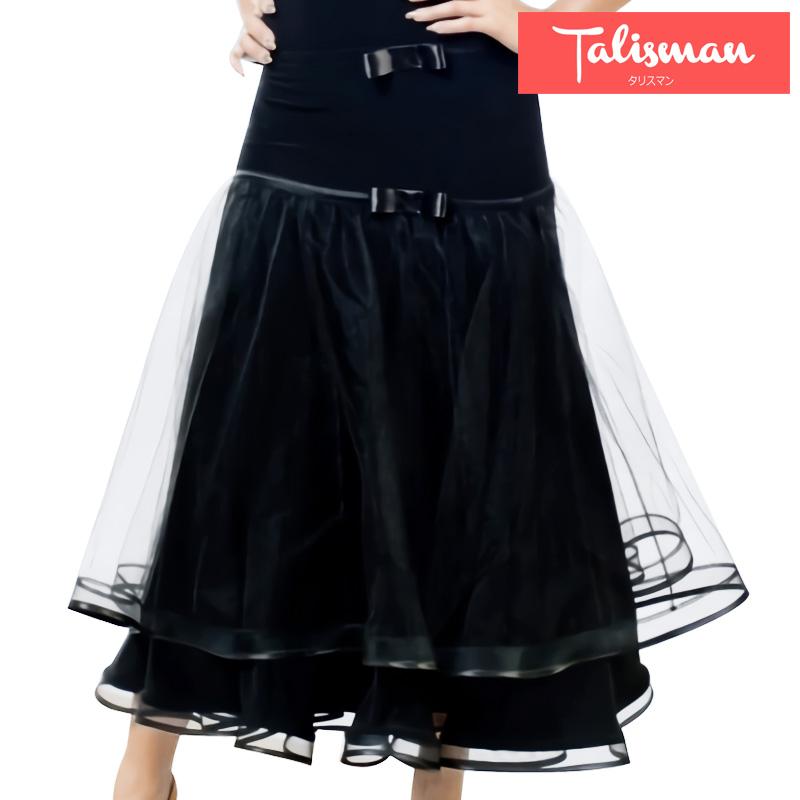 ■ボールルームスカート・タリスマンオブダンス(TALISMAN OF DANCE)■(社交ダンス 衣装 社交ダンス ウェア ドレス トップス スカート シューズ ダンス トップス 衣装 ダンス 服 パンツ ダンス ドレス シューズ)
