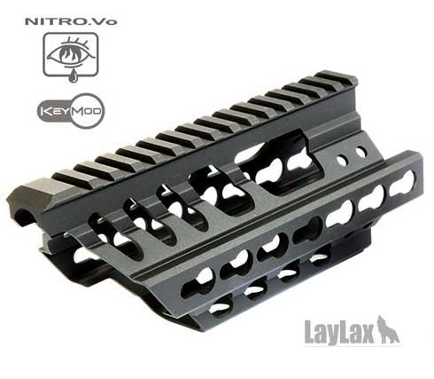ライラクス laylax P90 Keymod レイルハンドガード マルイ P90 対応 カスタム オプション パーツ