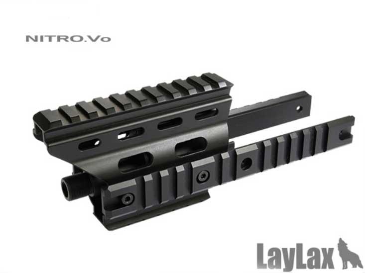ライラクス MP7 エクステンションフレーム カスタム オプション パーツ
