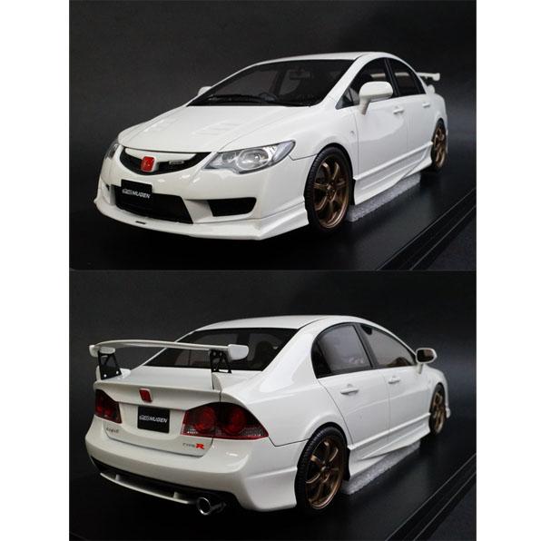 onemodel 1/18 ホンダ シビック Type-R FD2 Mugen ホワイト