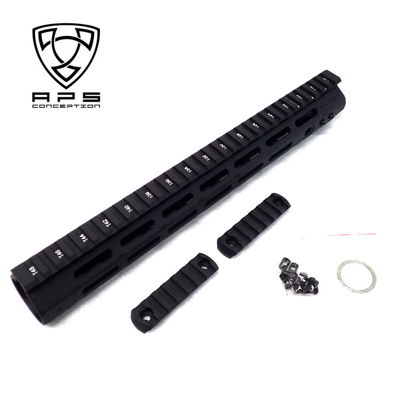 APS Evo4.0 type M-Lokハンドガード M4ハンドガード 13.5インチ Magpul タイプM-LOK カスタム オプション パーツ サバイバルゲーム サバゲー 装備 ミリタリー シューティング マッチ
