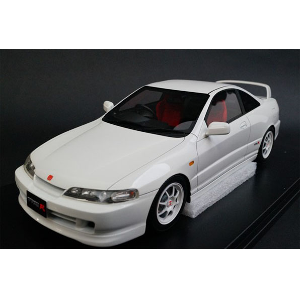 onemodel 1/18 ホンダ インテグラ タイプR DC2 ホワイト Honda Integra Type-R DC2 Early Version White