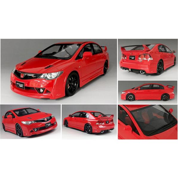 onemodel 1/18 ホンダ シビック FD2 無限RR レッド Honda Civic FD2 Mugen RR Red