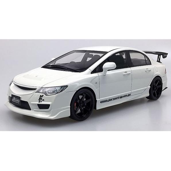onemodel 1/18 ホンダ Civic FD2 J's Racing ホワイト