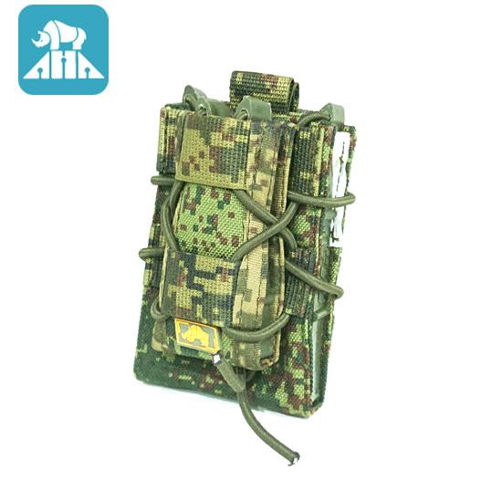 ANA TACTICAL ダブルデッカーオープントップポーチ AK-Fast EMR デジタルフローラ サバゲー 装備 サバイバルゲーム