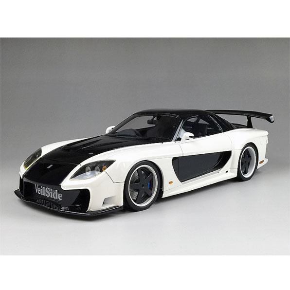 onemodel 1/18 Veilside RX7 ホワイト FD3S ミニカー ワンモデル