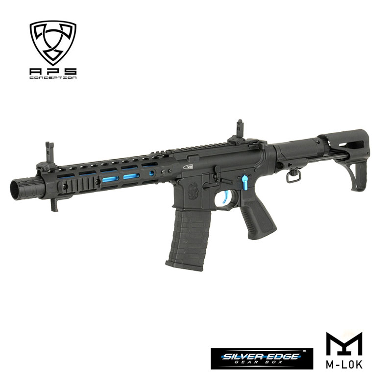APS M4電動ガン ASR122 GHOST PATROL ゴーストパトロール RIFLE スタンダードM4電動ガン用マガジン対応 18歳以上対象 カスタム オプション パーツ サバイバルゲーム サバゲー 装備 ミリタリー シューティング マッチ