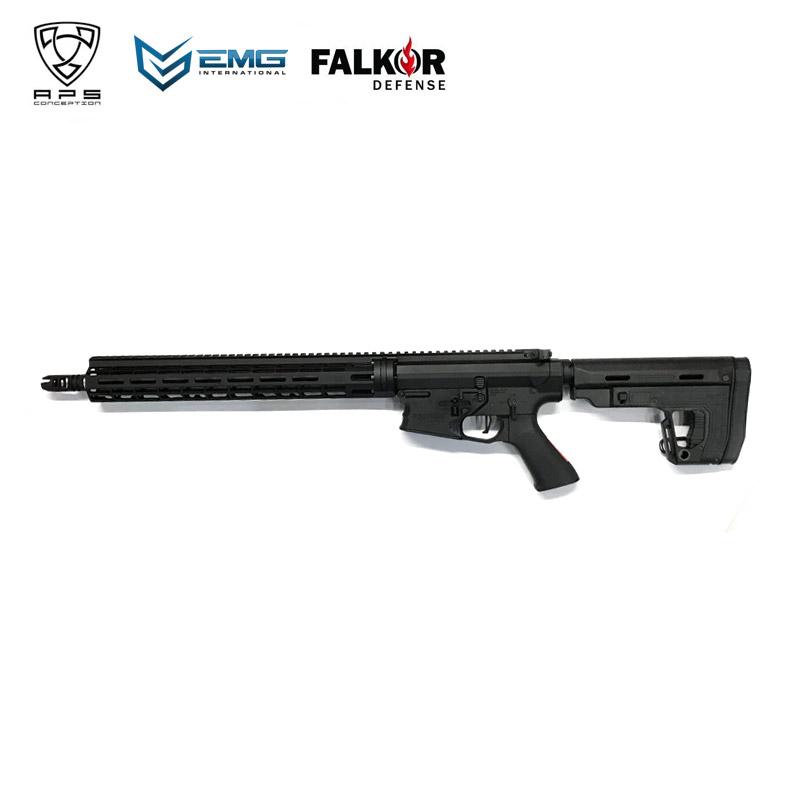 APS Falkor Defense B.Reece eSilver Edge RS1 stock Ver. 電子トリガーシステム搭載 電動ガン サバイバルゲーム サバゲー 装備 ミリタリー シューティング マッチ