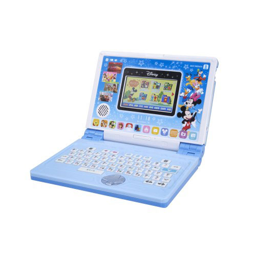 ディズニー&ディズニー/ピクサーキャラクターズ パソコンとタブレットの2WAYで遊べる! ワンダフルドリームタッチパソコン