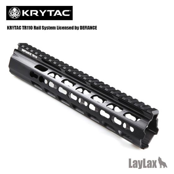[取寄] ライラクス LayLax KRYTAC電動ガン DEFIANCE TR110 Keymod キーモッドハンドガード(10インチ/CRBサイズ) KRYTAC カスタム パーツ サバイバルゲーム サバゲー 装備 ミリタリー