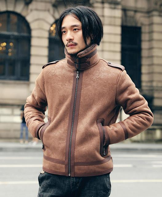 M-5XL 秋冬モデル 大きいサイズ メンズ ライダースジャケット レザージャケット  アウター ダブルライダース フェイクレザー ショート丈 長袖/防寒 裏起毛
