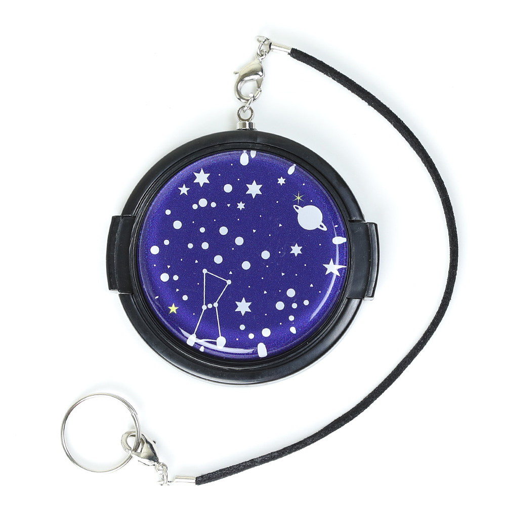 52mm/ デコレンズキャップ /Deco-lenscap/ glitter planetarium