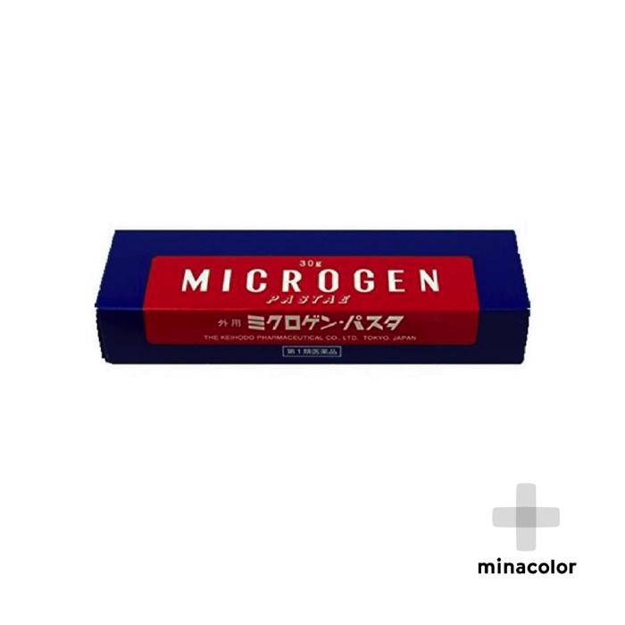 ミクロゲン パスタ 30g バーゲンセール 初回限定 男性用育毛剤 第1類医薬品