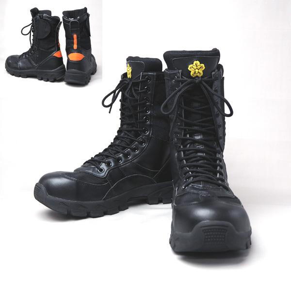 IWA 消防編上げ靴 PRIBON-プリボン 【消防団編上げ靴】