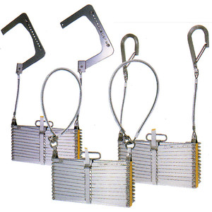 OA6型 アルミ式 折りたたみ式避難はしご 有効長5610m 【避難はしご/避難器具/梯子】