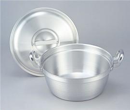 まかないくん30型用鍋 (アルミ蓋付) 【避難生活用品】