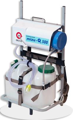 手動式浄水器mizu-Q500 【避難生活用品】