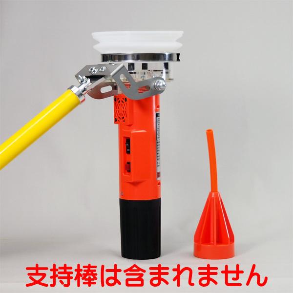 楽ECO 煙感知器用ガス式試験器 ALKS3 パターンBC アークリード(株)製 【防災用品/消防設備点検用具】