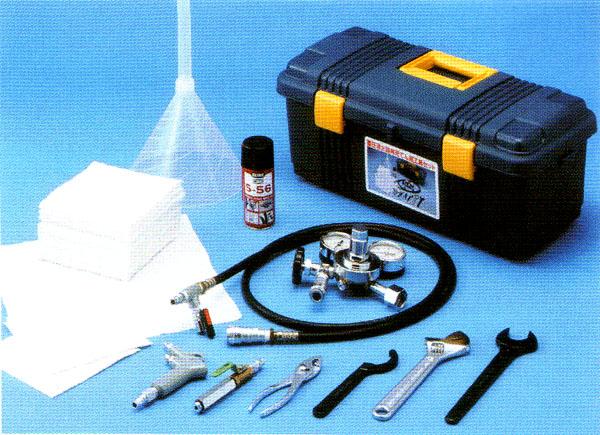蓄圧消火器再充填用工具セット 【消火器/消防設備点検用具】
