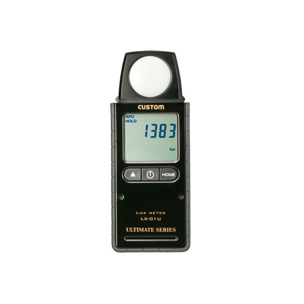 デジタル照度計 【防災用品/消防設備点検用具】