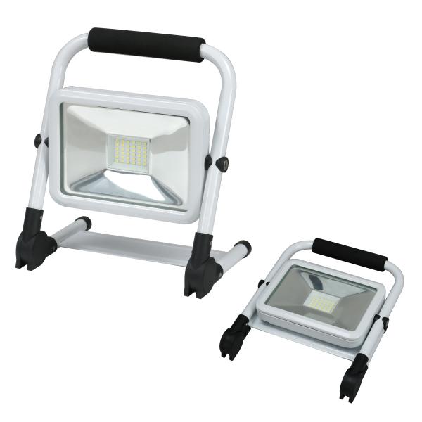 LED投光器(充電タイプ)20W型 【防災用品/消防設備点検用具】