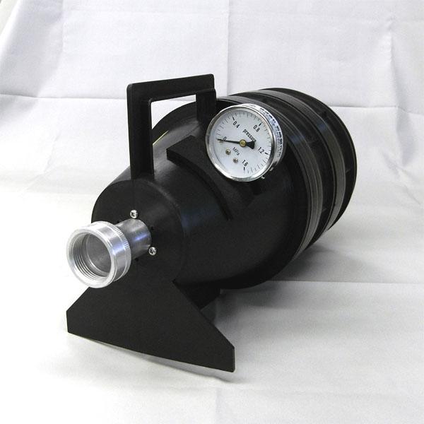 放水圧力測定器 ピトーキング 25口径用 吐水口付 【消火栓/消防設備点検用具】