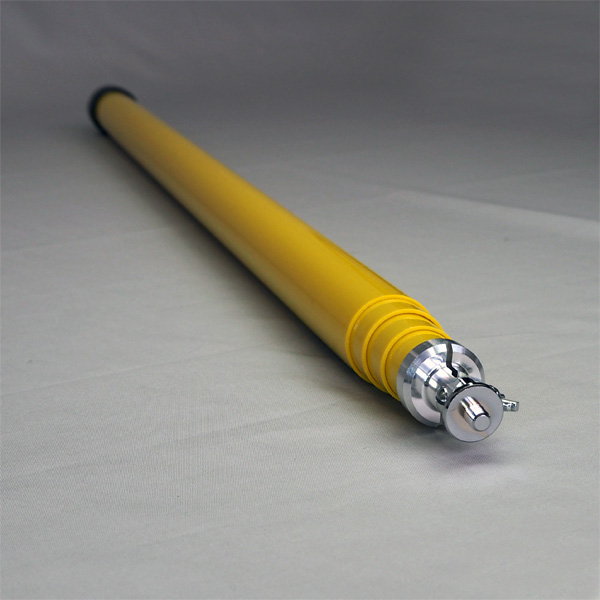 支持棒3m グラスファイバー製 4段 収納袋付【消防設備点検用具】