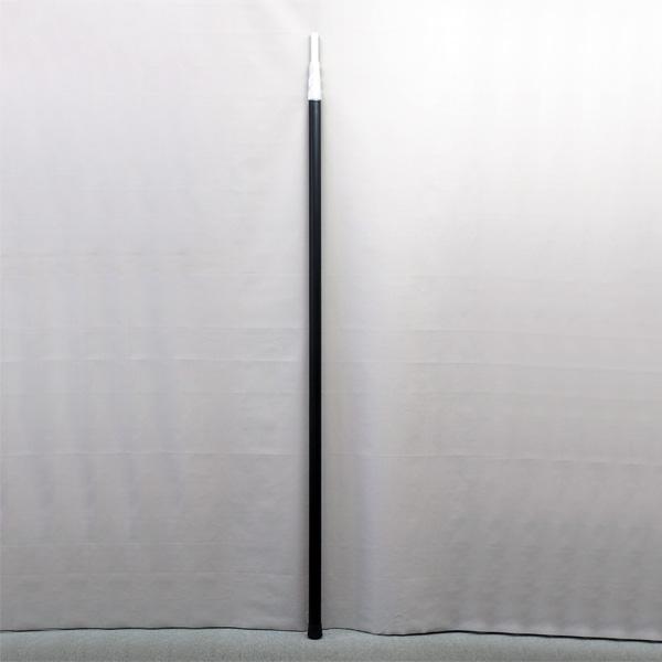 支持棒6m アルミ製 4段 ネジロックタイプ SANWA製【消防設備点検用具】