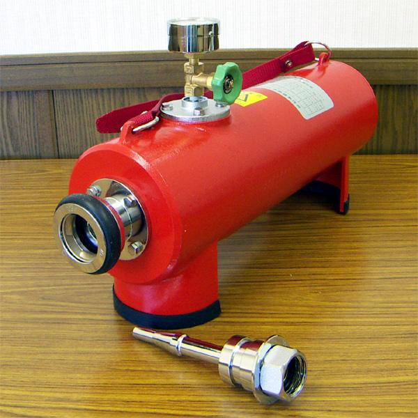 放水圧力測定器 25・40口径用 【防災用品/消防設備点検用具】