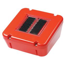 屋外消火設備表示灯システム コンデンサ太陽電池式 ecoルミナ C-2型 初田製作所製【移動式粉末消火設備】