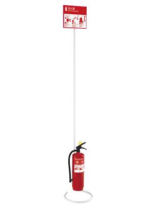 消火器収納ケース UFB-3F-3021H-PWH-H2000 スチール 色:ポーラルホワイトペイント+EVAレッド ユニオン製 【消火器設置台/ケース】