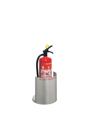 消火器収納ケース UFB-3S-2801-HLN ステンレス ヘアライン ユニオン製 【消火器設置台/ケース】
