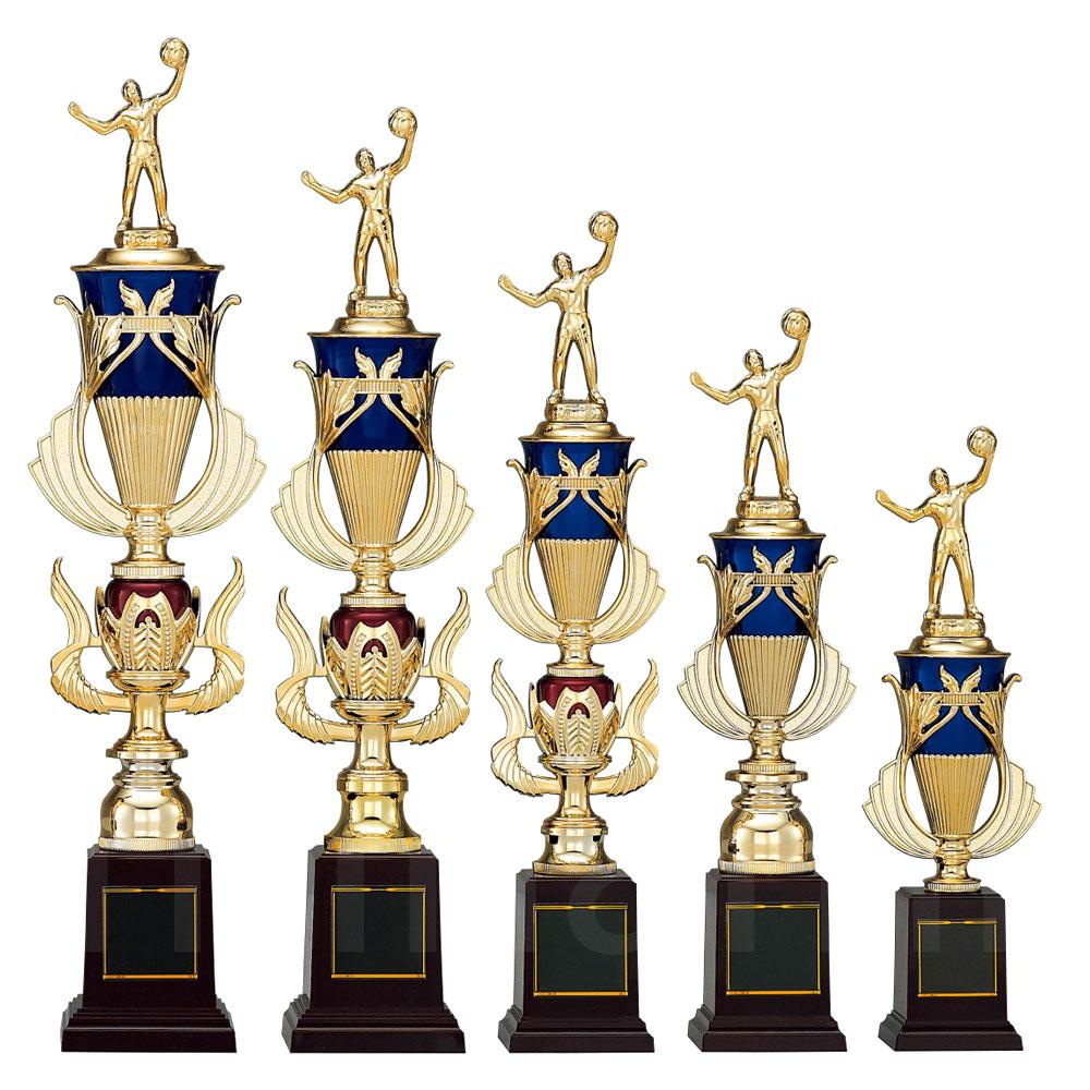 野球 ゴルフ バレー サッカー テニス 人気 卓球 ボウリング バスケット ソフトボール 贈答品 剣道 柔道 高さ50cm 南九州トロフィー 表彰トロフィー つり 重さ420g 空手 レーザー彫刻 化粧箱入り T8845-Aサイズ ト音記号南九州トロフィー 文字彫刻代無料