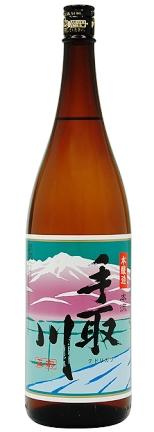 最もスタンダードな手取川の酒 秀逸 吉田酒造 通販 手取川 本流本醸造 1800ml