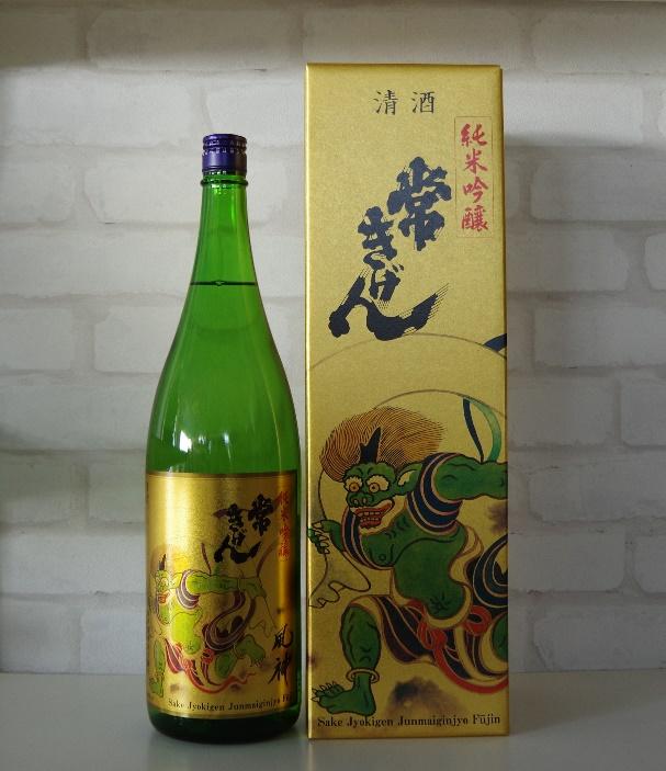 鹿野酒造 常きげん 純米吟醸 オープニング メーカー再生品 大放出セール 風神 1800ml