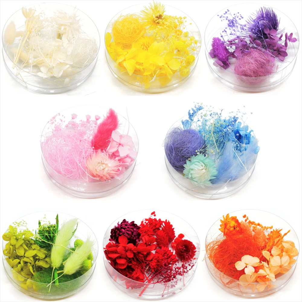 ハーバリウム 手作り 花材 新作 人気 お洒落 ドライフラワー アソート花材 ブリザーブドフラワー 花材のアソートです だれにでも簡単に作れる