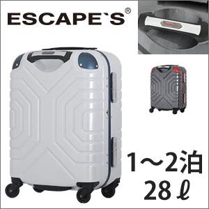 スーツケース 機内持ち込み Sサイズ 1泊 2泊 小型 シフレ エスケープ グリップマスター ハンドル頑丈 頑強 フレームタイプ かっこいい≪B5225T≫44cm 送料無料 1年保証