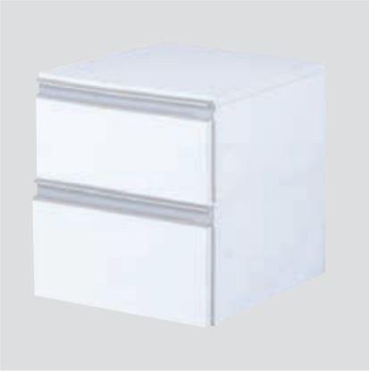 収納 整理 収納用品 新作入荷 棚板 カラーボックス チェスト 引き出しタイプ ブルBOX 幅狭2段タイプ 送料無料新品