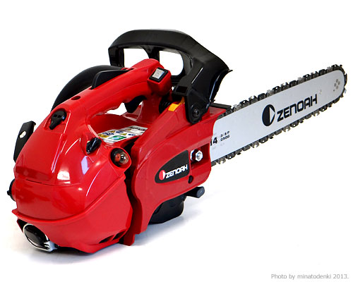 [up to 1,000 yen OFF coupon] Xenoah engine chain saw GZ3500T-EZ (14 inches,  91VG/35cc/EZ start specifications) [Chan so]