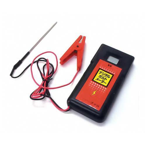 アポロ ハイパワーエリアシステム用 電圧測定器 デジタルボルトメータ AP-DJ2012 [電気柵 電柵 電気牧柵]