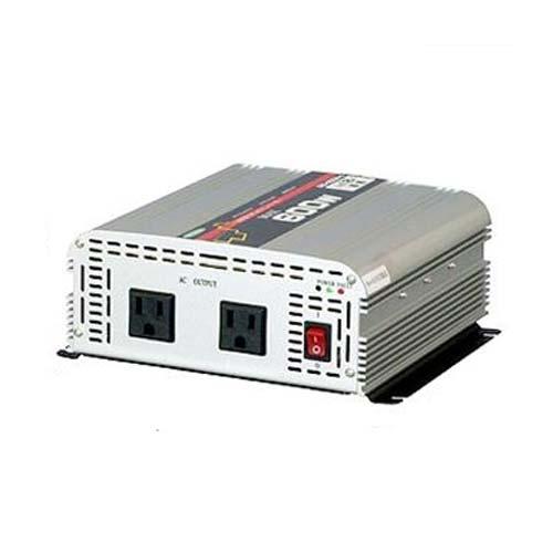 日動 DC/ACインバーター SIS-600N-B(出力600W/24V/矩形波)
